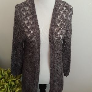 Purple maurices cardigan